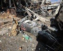 İdlib'de pazar yerinde patlama
