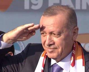 Başkan Erdoğan'dan Mehmetçik'e asker selamı