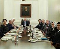 Başkan Erdoğandan yeni görev dağılımı