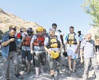 'Yıldırım' rafting