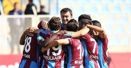 Trabzonspor, Bugsaş'ı 2 golle geçerek turladı