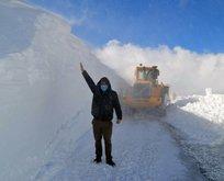 Kar kalınlığı 3 metreyi aştı! Çığ uyarısı geliyor