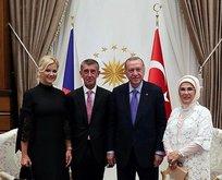 Başkan Erdoğan'dan Çekya Başbakanı onuruna yemek