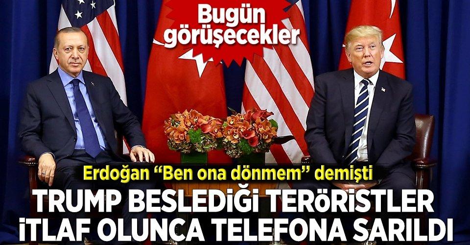 Cumhurbaşkanı Erdoğan ile Trump görüşecek