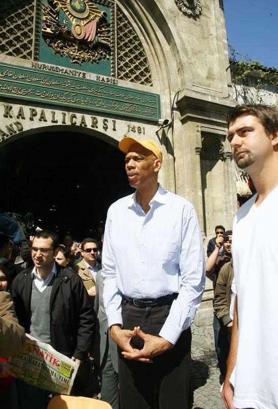 Kareem Abdul Jabbar, Süleymaniye'yi gezdi