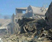 Şam'daki kimyasal tesis hasar gördü