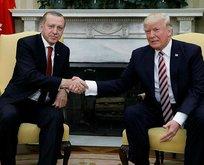 Erdoğan ve Trumptan kritik görüşme