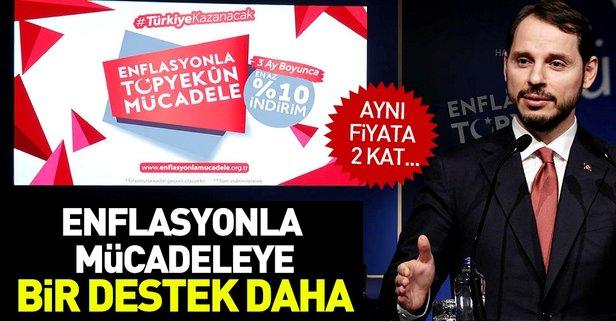 Turkcellden enflasyonla mücadeleye destek