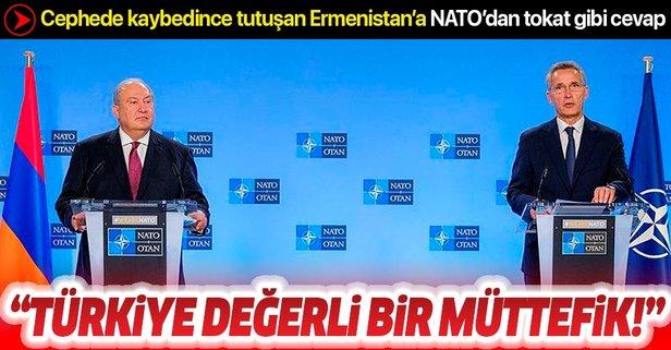 İşgalci Ermenistan'a NATO'dan tokat gibi cevap!