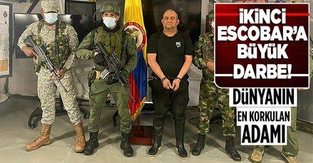 Escobar'dan bu yana en büyüğü! Uyuşturucu kaçakçısı Otoniel lakaplı Dairo Antonio Usuga yakalandı!
