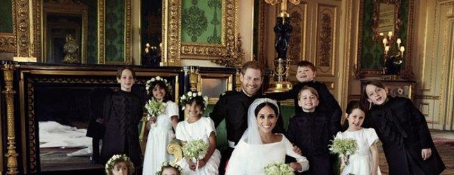 Yılın düğününden resmi fotoğraflar yayınlandı!
