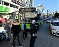 Cipteki kadınlar, yol vermediği iddiasıyla otobüs şöförünü dövdü