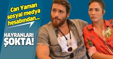 Erkenci Kuş dizinin yıldızı Can Yaman'dan Demet Özdemir'e şok sözler: Seninle göz göze...