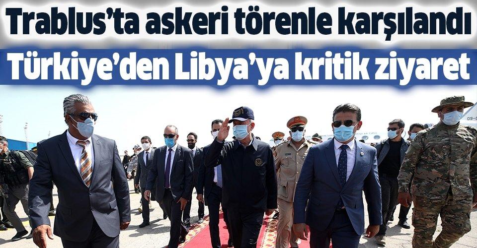 Türkiye'den Libya'ya kritik ziyaret