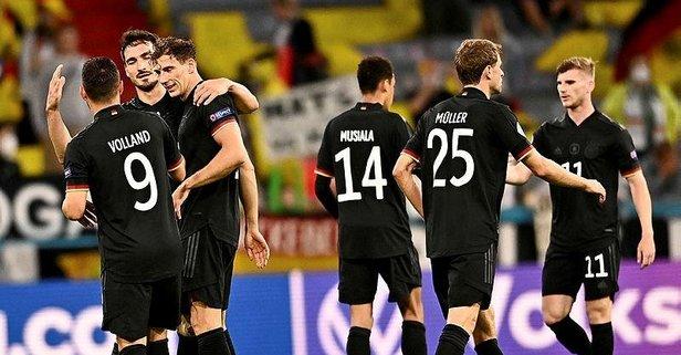 Almanya kazanmasa da sevindi!