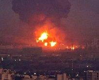İran'daki enerji boru hattında patlama