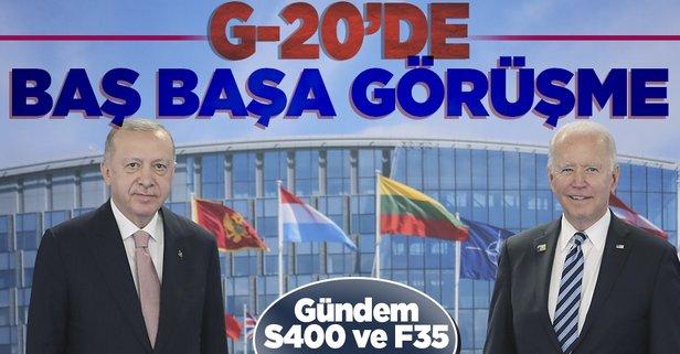 Başkan Erdoğan Biden ile görüşecek! Tarih belli oldu