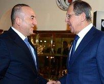 Çavuşoğlu ve Lavrovdan kritik görüşme