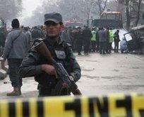 Afganistan'da polis karakoluna saldırı