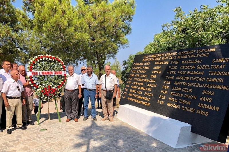 Kıbrıs Barış Harekatı kahramanları 45 yıl sonra aynı yerde