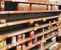Vatandaşlar marketlere akın etti