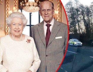 İngiltere Kraliçesi II. Elizabethin eşi Prens Philip Mountbatten trafik kazası geçirdi