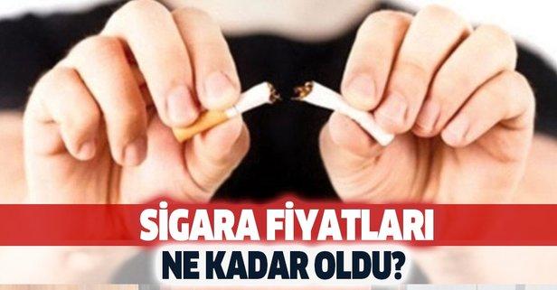 2020 Eylül güncel zamlı sigara fiyat listesi!