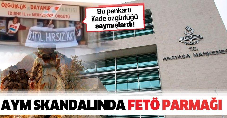 AYM skandalında FETÖ parmağı! AYM, FETÖ'cü duruşma savcısının kararlarını esas almış