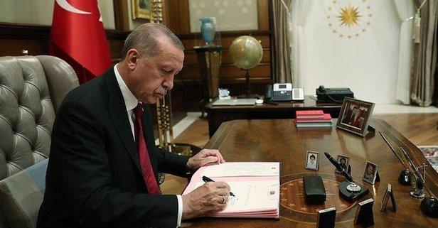 Atama kararları Erdoğan'ın imzasıyla Resmi Gazete'de