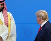 Trump, Prens Selman için 'Onun kıçını ben kurtardım' dedi