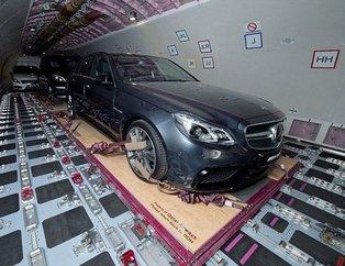 Lüks otomobilleri böyle taşıyorlar
