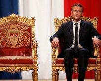 Macron'dan Türkiye'ye skandal bir iftira daha
