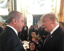 Başkan Erdoğan ile Trump Halkbankın durumunu konuştu
