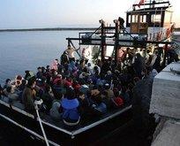 Çanakkale açıklarında yakalandılar! Tam 144 kişi