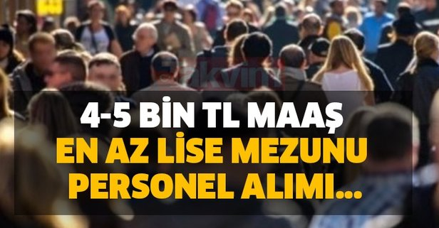 4-5 bin TL maaş: Türk Telekom en az lise mezunu personel alımı...