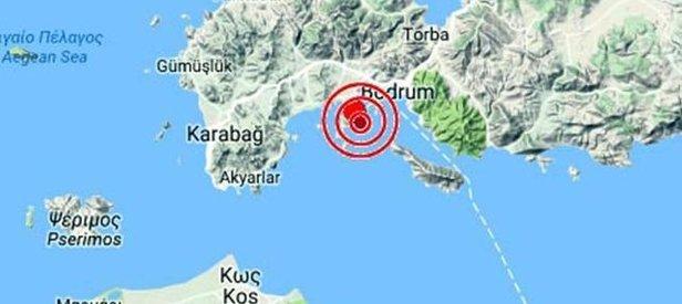 'Deprem Bodrum'dan uzaklaştı'