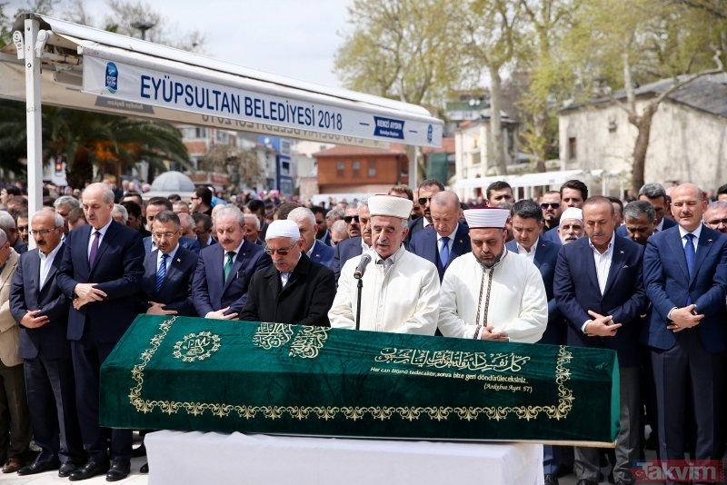 Başkan Erdoğan Hayati Yazıcı'nın babasının cenazesine katıldı