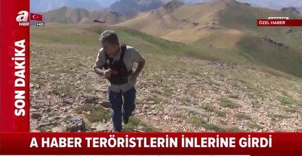 PKK'ya Kıran darbesi! İnlerine girildi