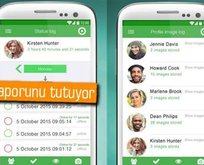 Whatsapp'ta çevrimiçi olduğunu gösteren uygulama