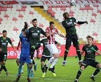 Sivasspor, Giresunspor'u yendi