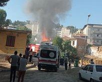 Helyum gazıyla dolum yapılan bir evde patlama!