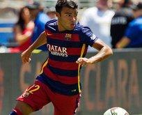 Barcelonalı Rafinha Sultanahmette top oynadı!