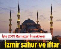 İzmir sahur, iftar saati kaçta?