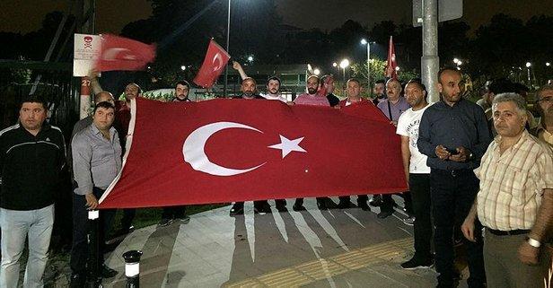 Taksicilerden Erdoğan'a 100 araçlık teşekkür konvoyu