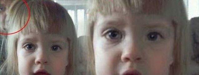 Küçük kızın çektiği fotoğraf kan dondurdu! Akıl sır ermiyor