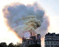 Notre Dame Katedrali'ndeki yangın söndürüldü