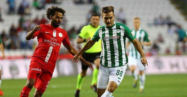 Konya'da puanlar paylaşıldı!