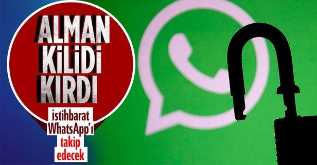 Alman istihbaratı WhatsApp'ı okuyacak!