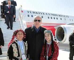 Başkan Erdoğan Konya'da sevgi seli