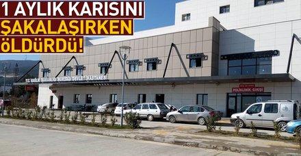 Son dakika... Gaziantep'te bir şahıs şakalaştığı karısını öldürdü